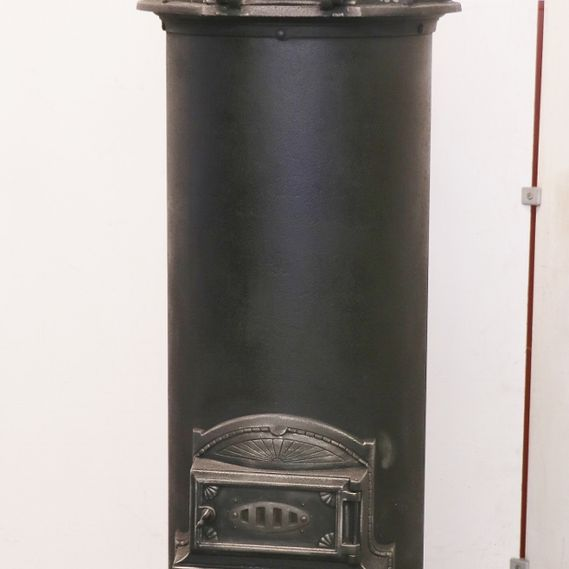 Round iron stove no. 1680