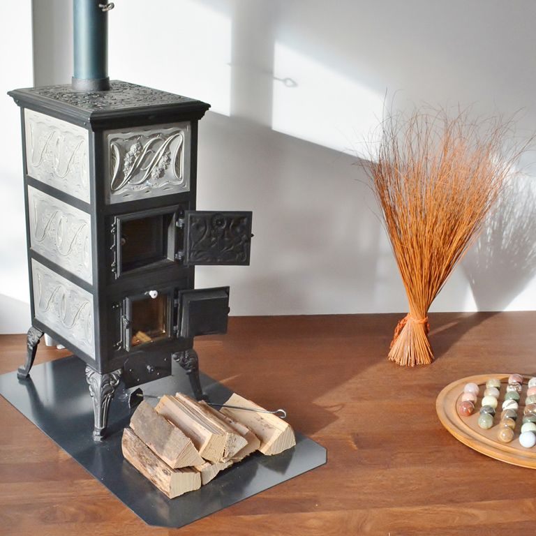 Tiled stoves for a homely atmosphere
